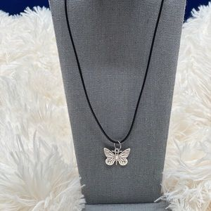 Brand new adjustable butterfly necklace
